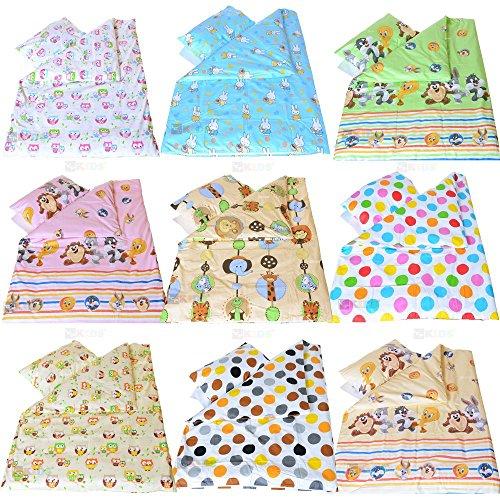 LCP Kids - Biancheria letto neonato 4 pezzi 135x100 - DisneyŽs Tiny Toones, Motivo: DisneyŽs Tiny Toones - Bambino 4 Pezzo Presepe