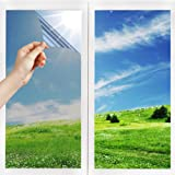 Dating Girl Pellicola Specchio Oscurante per Vetri Finestre Autoadesiva per Privacy, Anti-UV e Controllo del Calore, Adatto a
