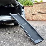 Pet Style Car Travel Pet Ramp, Bi Folding, Non Slip / Anti-Slip, Side Rails, Black, 40 × 157 cm Dog - On Sale Now