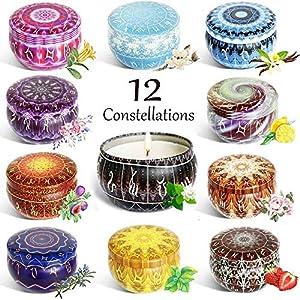 Velas Perfumadas,12 series de constelaciones