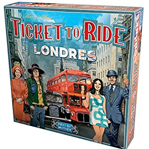 Days of Wonder-¡ ¡Aventureros al Tren! Londres ES/PT, Color (DW722461ML)