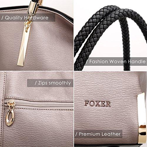 FOXER ,  Damen Tasche Hellgrau