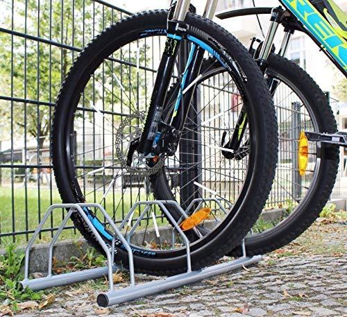 INION MHBB5020 - Freistehender Boden Fahrradständer für 3 Fahrräder Fahrradparkplatz Fahrradhalter Räder Fahrrad Bike Ständer/chiavi -