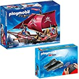 PLAYMOBIL® Piraten 2er Set 6681 5536 Soldaten-Kanonensegler