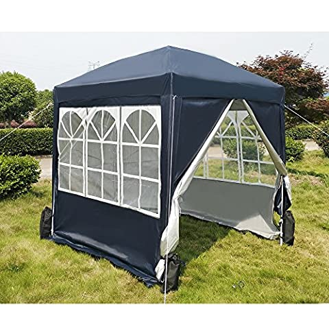 Tuff Concepts 3 x 3 Wasserdichte Outdoor PE Garten Pavillon party Zelt