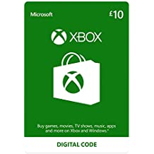 Xbox Live £10 Credit [Xbox Live Online Code] [PC Code - No DRM]