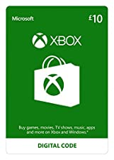 Xbox Live £10 Credit | Xbox Live Download Code