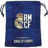 Real Madrid - Saquito merienda, color azul (Safta 811724237)