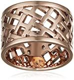 Tommy Hilfiger Jewelry Damen-Ring Classic Signature Edelstahl, roségold, Gr. 56 (17.8) - 2700744D