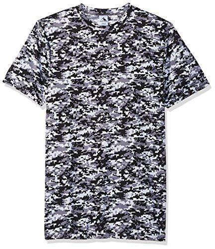 Augusta Herren 1798Digi Camo Wicking T-Shirt Größe L Black ()