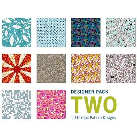 Papel para papiroflexia - Paquete de regalo de 100 hojas de estampados de diseño (colección 2)