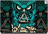 Infinity Owl High Quality printed Laptop skins | Laptop decals | Laptop Stickers | Skin Stickers for Apple , HP , Lenovo , Sony , Dell , Acer , Asus , Compaq , Toshiba Laptops for 15.6 inch screen size.