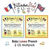 Französische und Englische Musik für Babys | Kleinkinder, Vorschulkinder | 2 CD Multipack (BilinguaSing - Baby liebt Französisch) PREISGEKRÖNT! ...