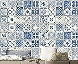 JY ART Wand-Aufkleber Küche Deko Badezimmer-Gestaltung - Küchen-Fliesen überkleben - Dekorative Bad-Gestaltung - Fliesen-AufkleberDT034, 20cm*20cm