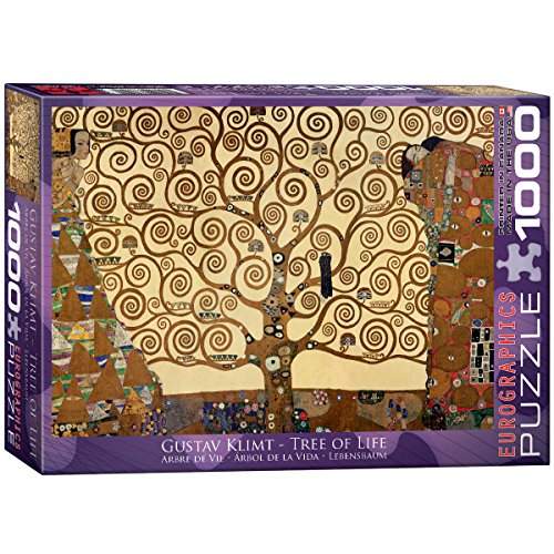 Eurographics Tree of Life by Klimt 1000pcs 1000pc(s) - Puzzles (Jigsaw puzzle,...