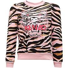 4290ac474c2 Kenzo 2551V Felpa Bimba Kids Tiger 10 Multicolor Sweatshirt Cotton Girl Kid