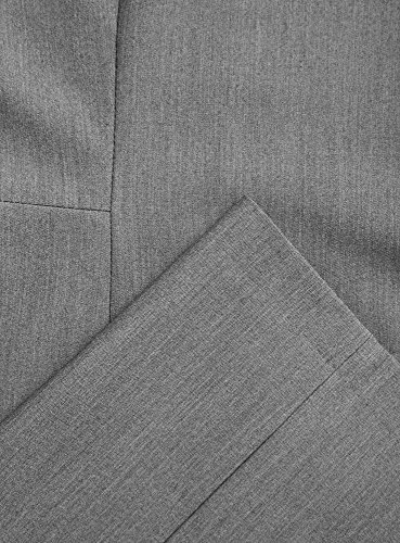 oodji Collection Damen Ärmelloses Kleid Basic Grau (2500M)