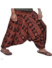 Textile Export Harem Pants For Women Free Size, Rayon Rajasthani Hand Printed Combo Pack Of Cotton Semi Patiala...