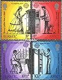 Prophila Collection GB - Jersey 192-195 (kompl.Ausg.) 1979 Geschichte des Postwesens (Briefmarken für Sammler)