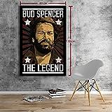 Bud Spencer - LEGEND - Leinwand (80x120cm)