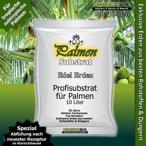 Palmenerde Palmensubstrat Premium Erde für Palmen - 10 Ltr. - PROFI LINIE Substrat