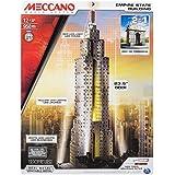Meccano Empire State Building - kits de mecano (Arquitectura, Batería, AA, Rojo, Color blanco, Amarillo, Metálico, Metal)