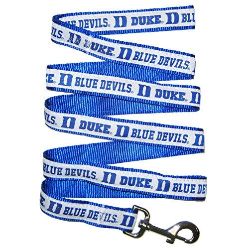 NCAA Pet Leine. 50Hochschulen in 3Größen erhältlich. Robuste, stabil, langlebig & verstellbar NCAA Hund Leine. Must-Have Collegiate Gear für 4-Bein-Sport Fan, Duke Blue Devils, Medium, blau