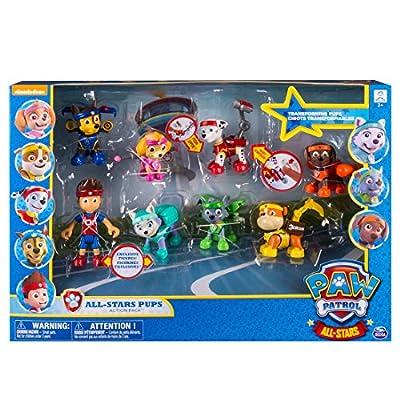 Patrulla Canina - Pack de 8 Figuras All Star (Bizak 61926657) de Bizak