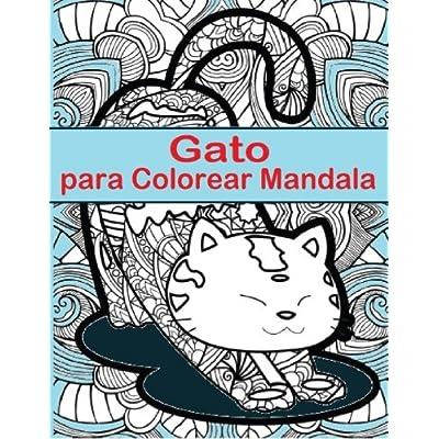 Carran Neptunu: Gato Para Colorear Mandala: Gato Para Colorear ...