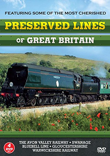 Preserved Line Of Great Britain [4 DVD SET] [UK Import]