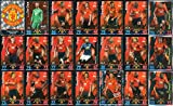 MATCH ATTAX 2018/19 MANCHESTER UTD - FULL 21 CARD TEAM SET including ALL 3 MANCHESTER UTD MAN OF THE MATCH CARDS