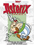 Omnibus 5: Asterix and the Cauldron, Asterix in Spain, Asterix and the Roman Agent