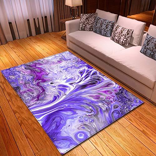 YSX-carpet Wohnzimmer Sofa Teppich Schlafzimmer Doppelbett Decke Villa Hause Halle großen Teppich waschbar,M6,5.2ftx3.9ft -