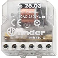 Finder 260382300000PAS - Caja de interruptores de control remoto 230 VAC 1 NO/1 NC 10 A