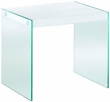 HAKU Möbel 87395 Beistelltisch 40 x 35 x 35 cm, weiß: Amazon.de ...