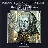 Reichardt : Lieder. Fischer-Dieskau, Graf, Harfe.