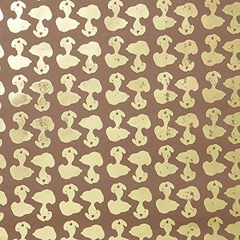 BUTLERS PEANUTS Kraftpapier Snoopy- Geschenkpapier - 2 m