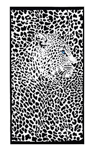 Black Temptation Sport & Heim Handtuch Plus-Badetücher/Handtücher / Badetücher -Leopard