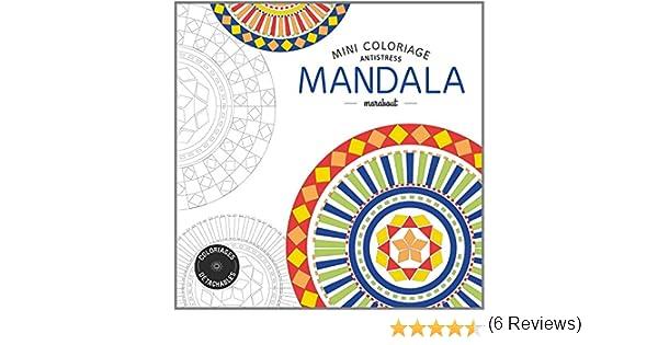 Mini coloriage antistress «Mandala»: Amazon.fr: Collectif: Livres