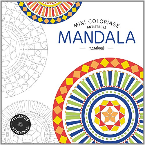 Mini coloriage antistress «Mandala»