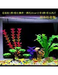 JXC-Simulation de réservoir de petits poissons d'aquarium animaux aquatiques aquatique pseudo décoratif,pin Guest-Greeting