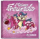 Freundebuch Meine Freunde (metallic rosa) Liebevoll gestaltet mit vielen Zusatzseiten und Visitenkarten zum Heraustrennen