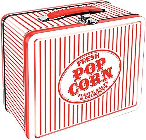 Aquarius Vintage Popcorn Large Tin Fun Box by Aquarius