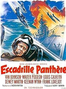 L'Escadrille Panthère - 1954 - Can Johnson - 116X158Cm Affiche Cinema Originale