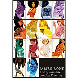 James Bond - Alle 14 Romane von Ian Fleming