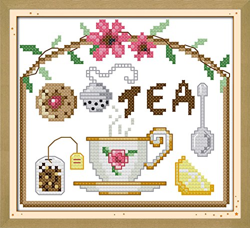Tea Time Ornamente (Carols Kreuzstich Ornamente Morning Tea Time)