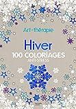 Hiver - 100 coloriages anti-stress Art-thérapie