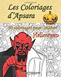 Les Coloriages d'Apsara - 50 coloriages pour célébrer Halloween