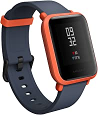 Amazfit Bip Smartwatch with All-Day Heart Rate and Activity Tracking, Sleep Monitoring(A1608, Orange)
