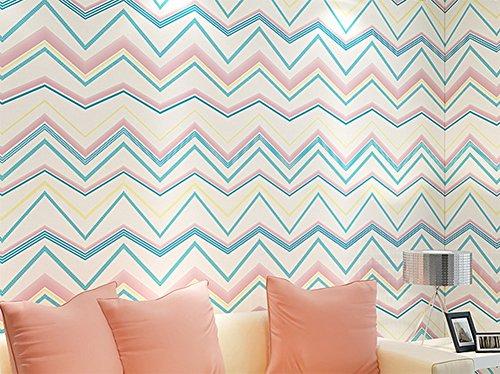Welle muster tapete, Dicke dekorative vliestapete, Abstrakte linien tapete, Drei-dimensionale wohnzimmer schlafzimmer tapeten-C